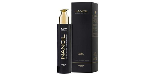 Najlepszy olejek na włosy Nanoil