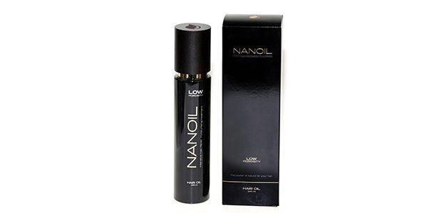 Nanoil do włosów niskporowatych